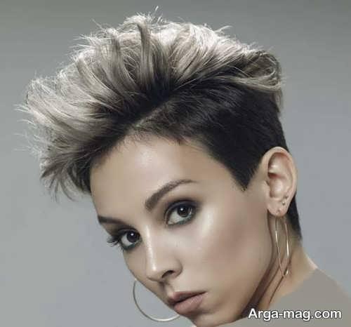 مدل مو جدید دخترانه کوتاه