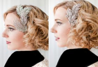 مدل موی کوتاه عروس شیک و جذاب