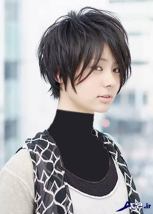 مدل موی کوتاه و شیک دخترانه