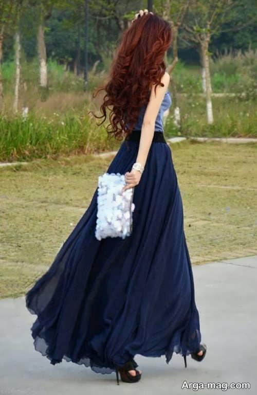 مدلهای دامن حریر دخترانه