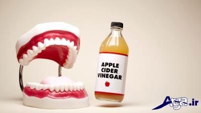 لاغری با سرکه سیب