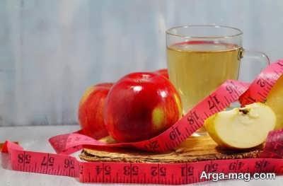 روش های لاغر شدن با سرکه سیب