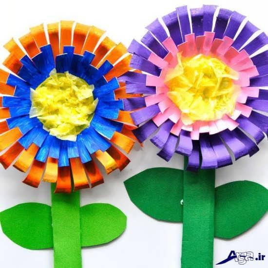 کاردستی گل ذر فصل بهار