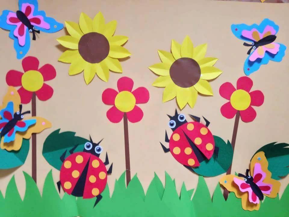 کاردستی فصل بهار برای کودکان پیش دبستانی و دبستانی