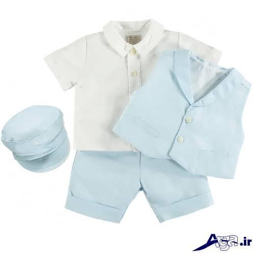 ست لباس نوزادی پسرانه