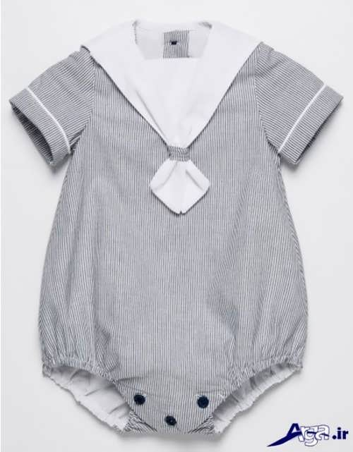 لباس سرهمی نوزاد پسرانه