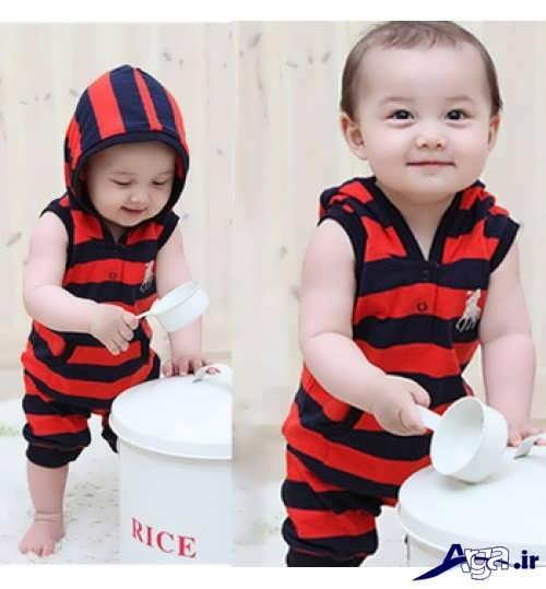 مدل شیک و متفاوت لباس نوزاد