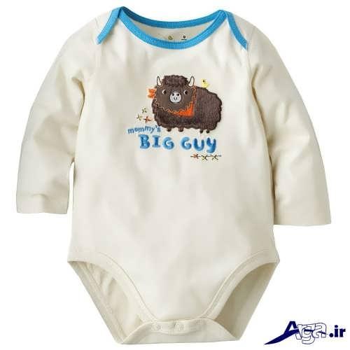 مدل لباس سرهمی نوزاد