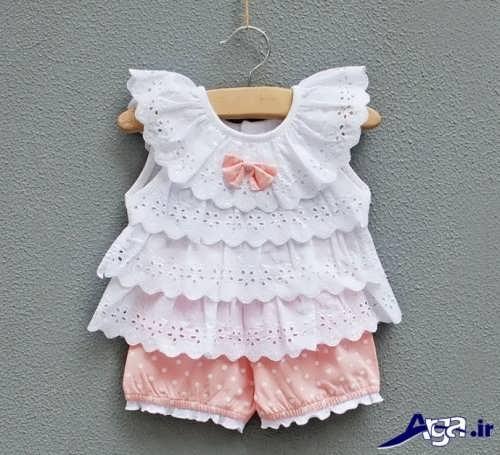 مدل لباس نوزادی با طرح فانتزی