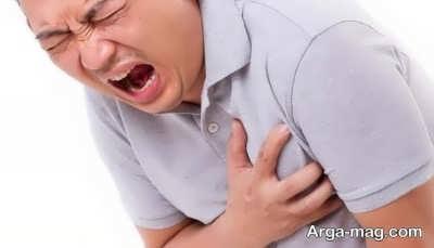 نشانه حمله قلبی