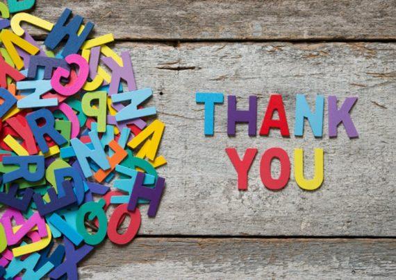جملات زیبا برای تشکر و قدردانی
