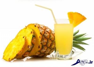 درمان غلظت خون با آناناس