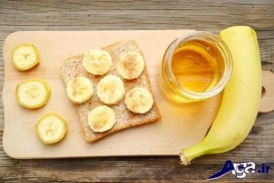 درمان سرفه با عسل و موز