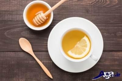روش درمانی سرفه با عسل و لیمو