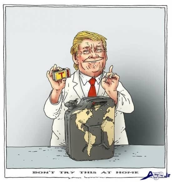 کاریکاتورهای ترامپ جمهوریخواه