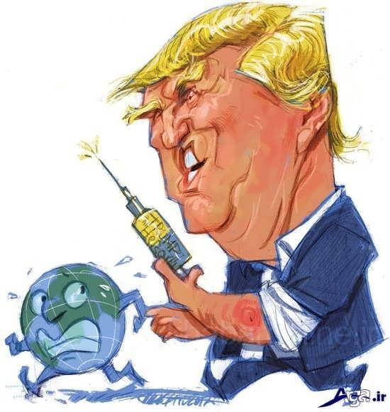 کاریکاتورهای جالب ترامپ