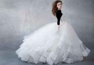 مدل لباس عروس پف دار با طرح های زیبا