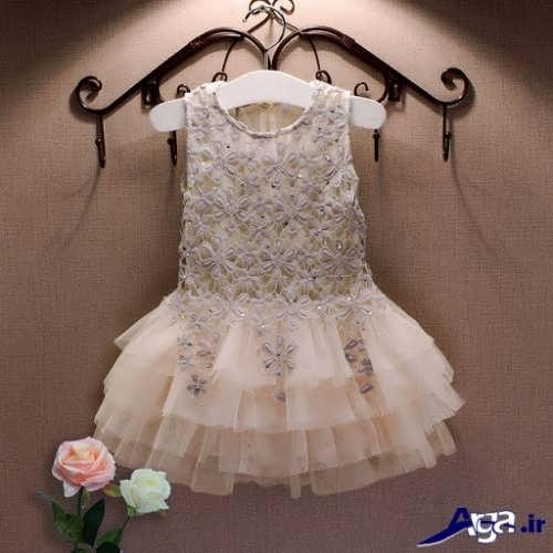 مدل شیک و زیبا لباس بچه گانه گیپور