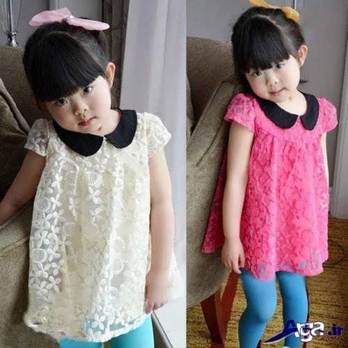 مدل لباس گیپور بچه گانه با طرح زیبا و فانتزی