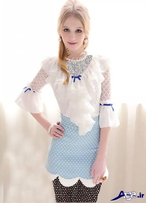 مدل زیبا و متفاوت لباس فانتزی