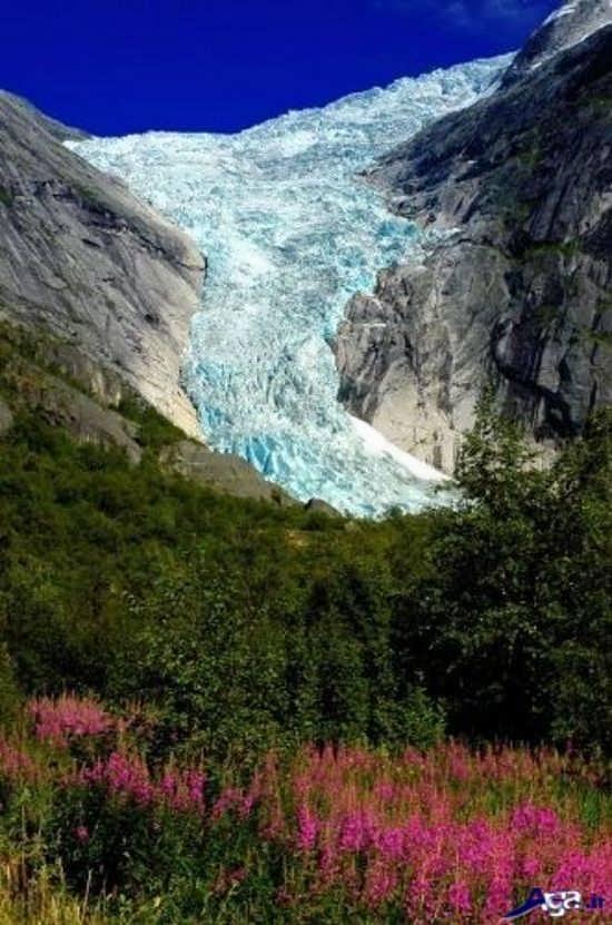 تصویر زیبا از طبیعت نروژ