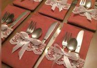 تزیین قاشق چنگال عروس