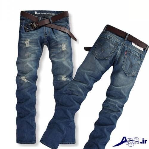 مدل زیبا و متفاوت شلوار جین مردانه