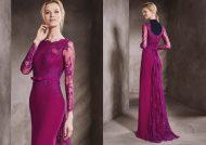 مدل لباس نامزدی پوشیده با جدیدترین طرح های ساده و کار شده