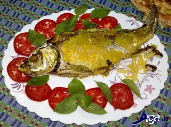 انواع طرح ماهی تزیین شده برای یخچال عروسان
