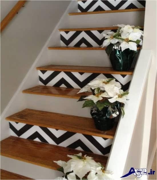 طرحهای زیبایی از تزیین را پله ها د رخانه