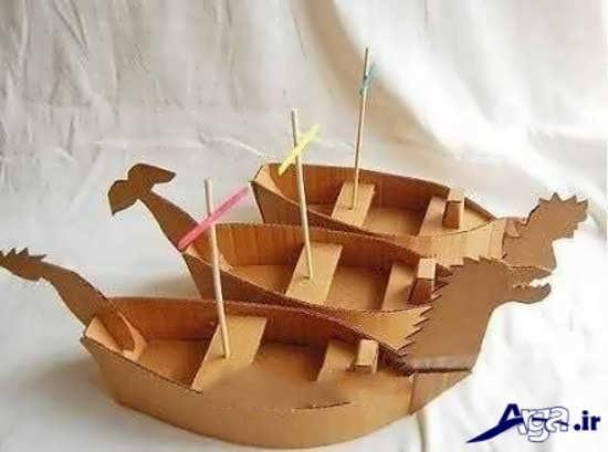 انواع مدلهای قایق کاغذی برای بچه ها