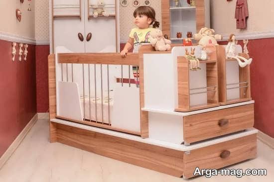 انواع مدلهای تختخواب کودک و نوزاد