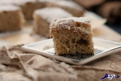 تهیه کیک با موز و دارچین
