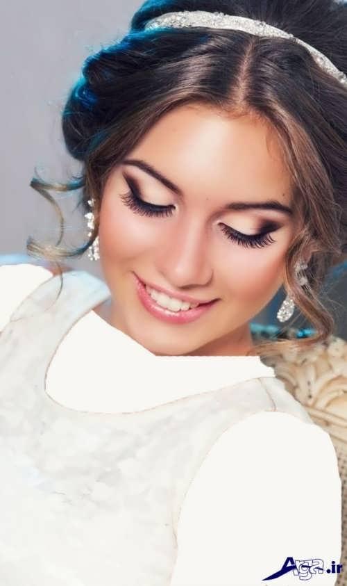 مدل زیبا و جذاب آرایش عروس