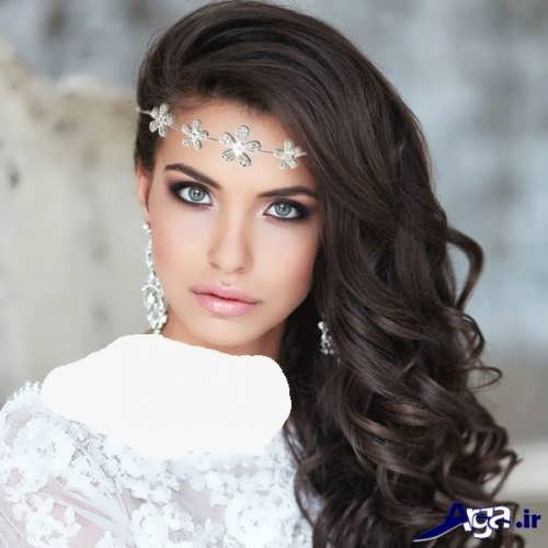 مدل آرایش زیبا و جذاب عروس