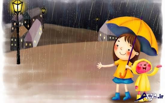 عکس های باران فانتزی