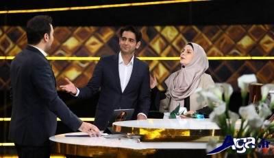 امیر حسین آرمان و مادرش