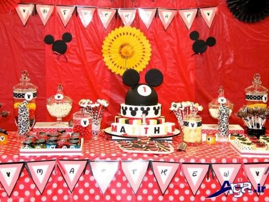 تزیین کیک تولد به اشکال مختلف