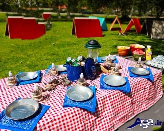 استفاده از فضای بیرون برای گرفتن مراسم جشن تولد