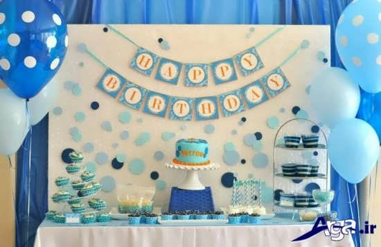 عکسهای کودکان به صورت آویز در جشن تولدشان