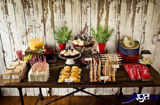 شیرینیها و خوراکیهای مخصوص جشن تولد