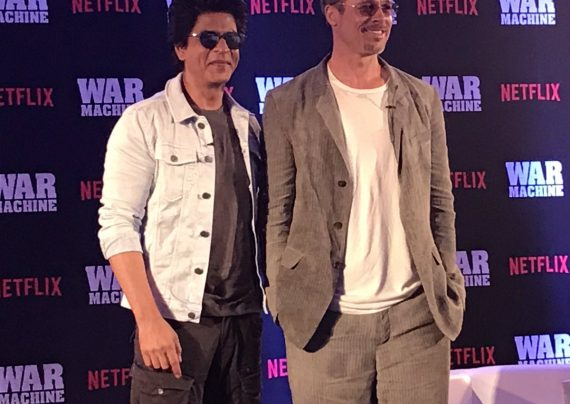 برد پیت و شاهرخ خان