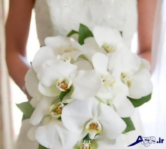 دسته گل عروس ارکیده تک