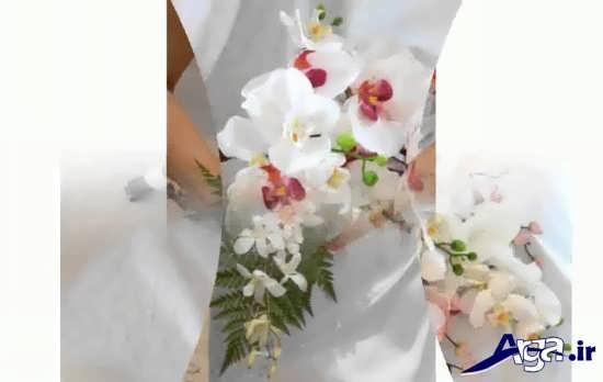 طرحهای آویز گلها برای عروس