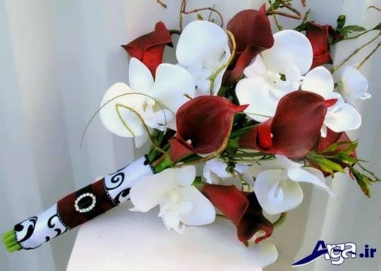 دنیای مدل گلهای طبیعی برای دسته گل عروس