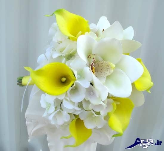 مدل دسته گل عروس باگل ارکیده زیبا