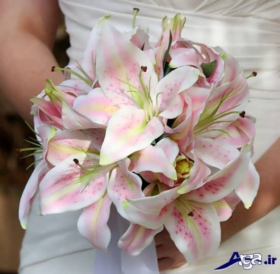 انواع مختف دسته گل با تزیینات زیبا