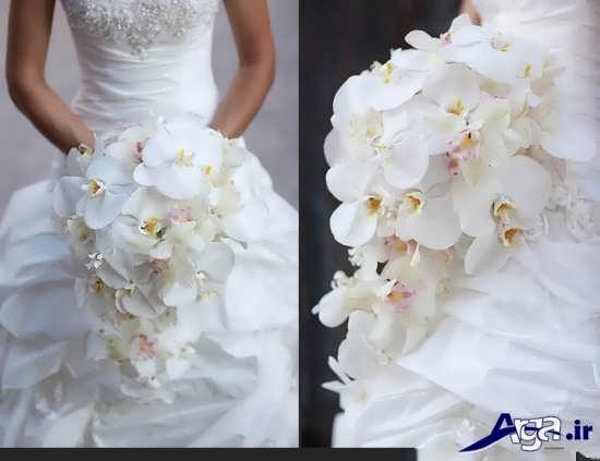 دسته گل ارکیده عروس