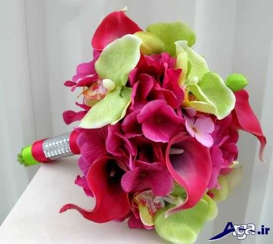 انواع دسته گل عروس ساده و زیبا