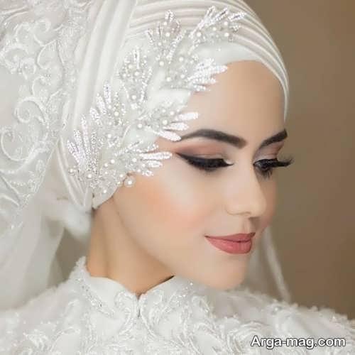 مدلی از حجاب عروس